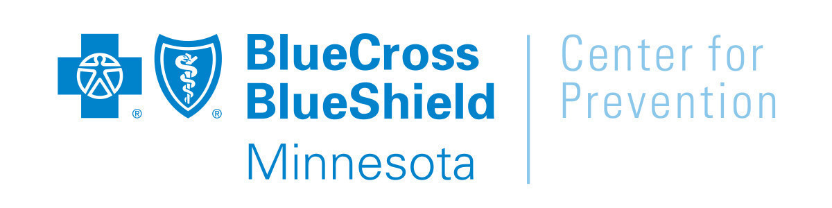 Blue Cross Blue Shield Minnesota Center for Prevention logo