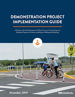 The Cover of the MnDOT Demonstration Project Implementation Guide