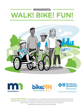 Cover of Minnesota Walk! Bike! Fun! document