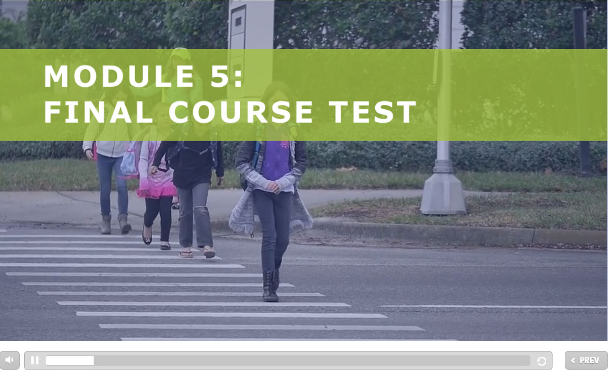 Photo of Module 5: Final Course Test