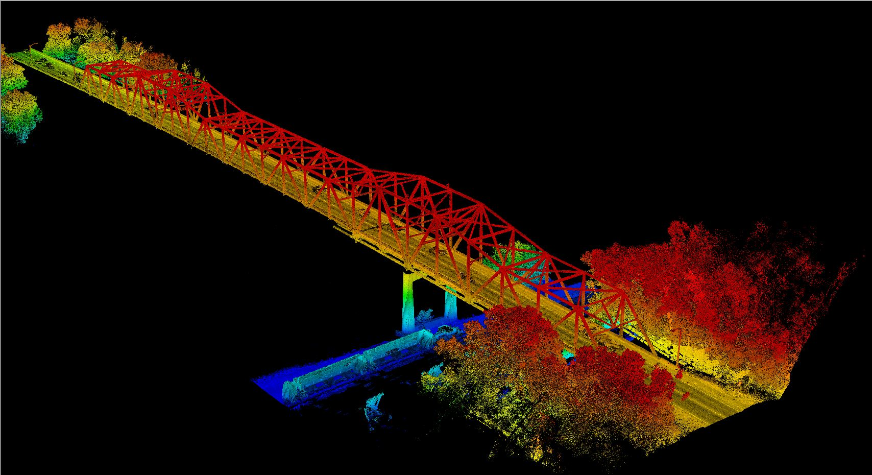 Minnesota Department of Transportation Metro Barrier Extraction and LiDAR Project