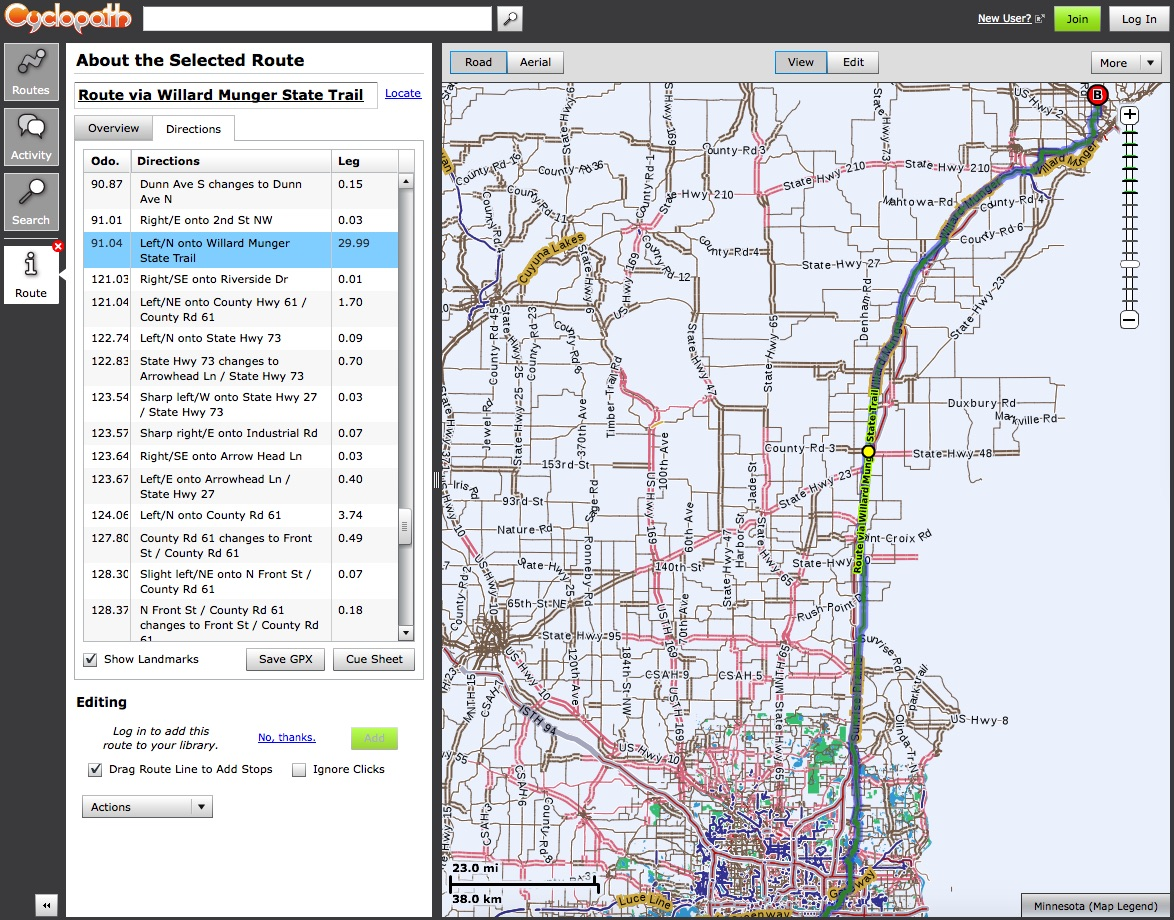 Statewide Cycloplan: Bicycle Planning Tool & Participatory GIS