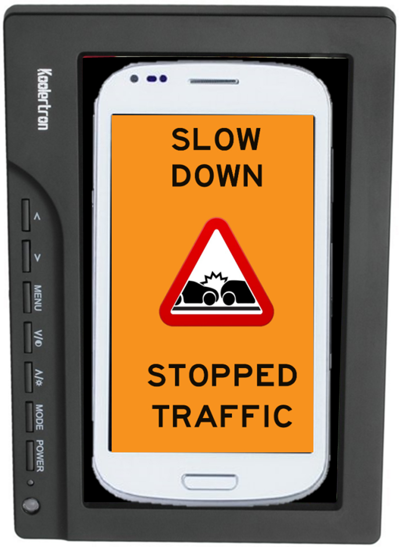 In-Vehicle Work Zone Messages