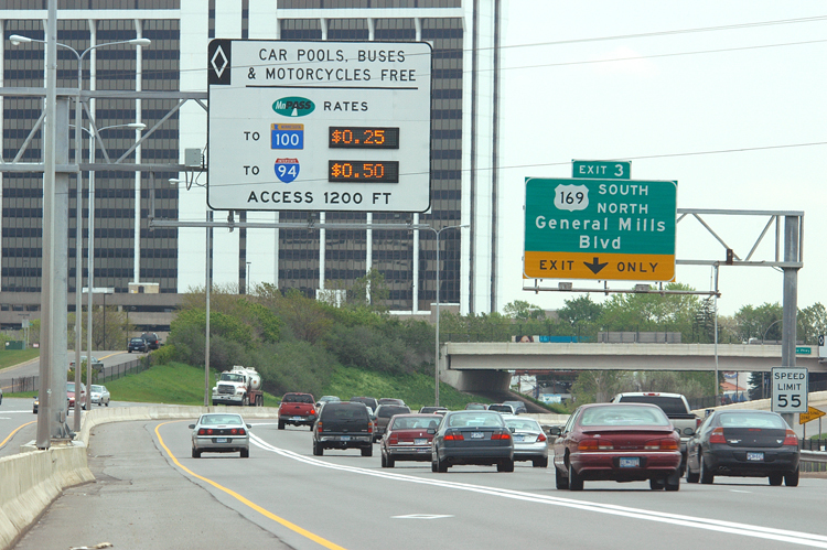 MnPASS lanes are managed lanes that offer buses quicker access to downtown.
