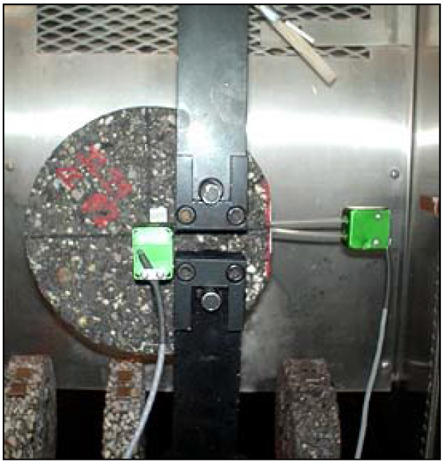 Researchers compared low temperature cracking tension tests.