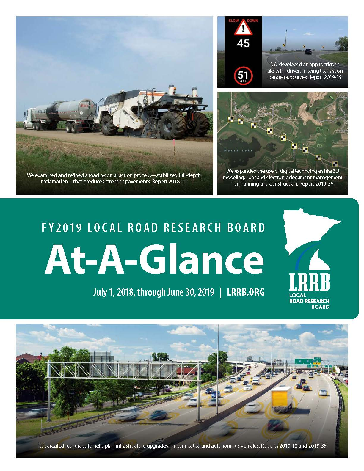 FY2019 At-A-Glance Cover