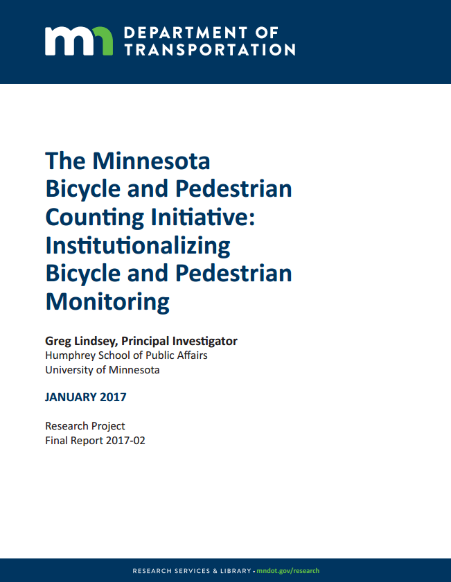 Research Project Report | Publications Research Services Minnesota Department Of