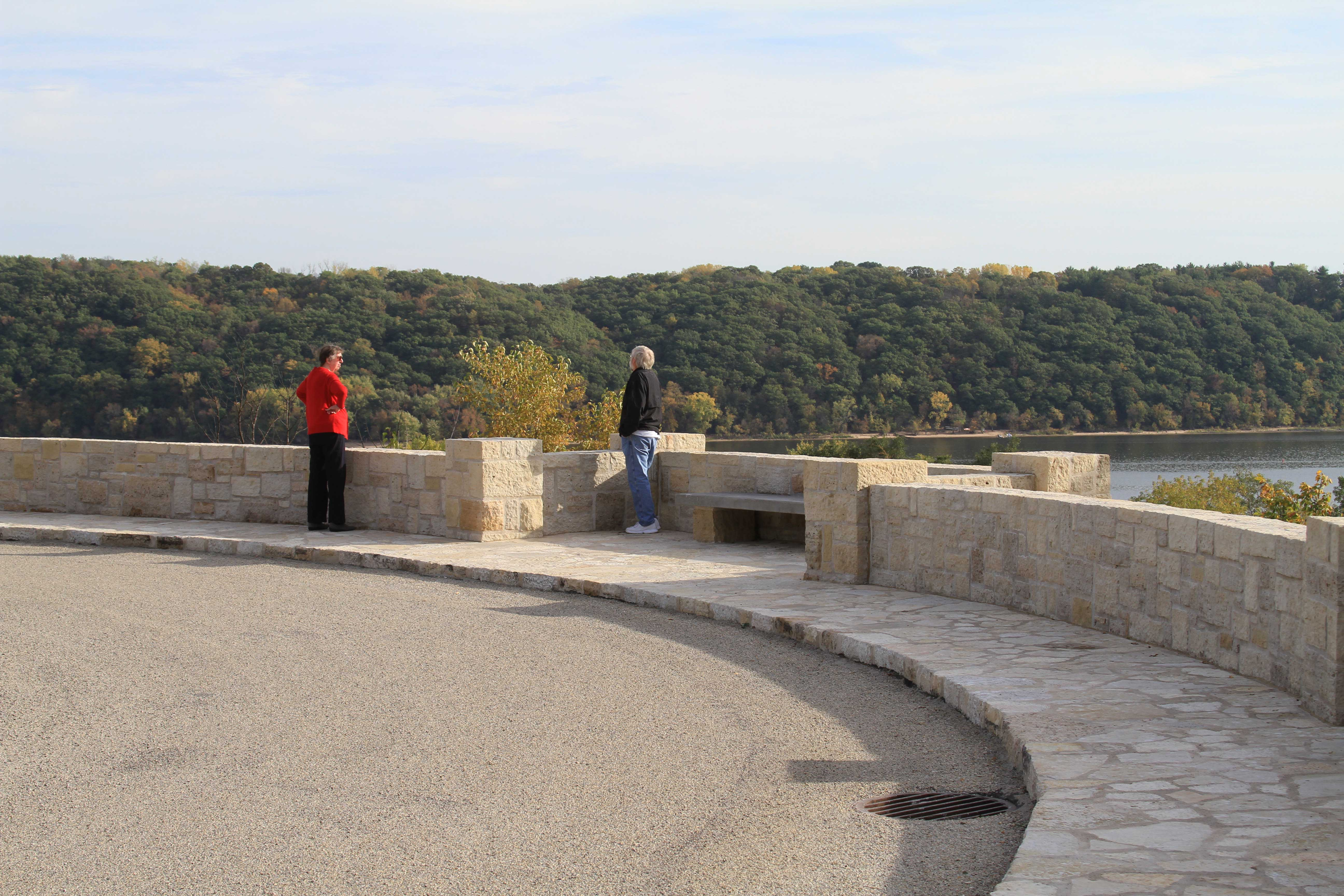 Lake St. Croix Overlook Restoration, also known as Stillwater Overlook South